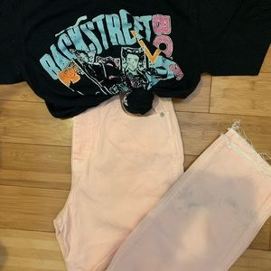 Madewell Vintage Straight in Pink
